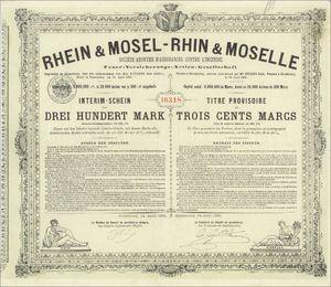 Rhein & Mosel - Rhine & Moselle Feuerversicherungs-Gesellschaft (VU17)