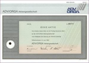 ADV/Orga Aktiengesellschaft (IT002)