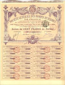 Société Générale des Pompes Funèbres de France pour l`Exploitation des Services de Pompes Funèbres  et Transportes en France et en Algérie (MF014)