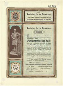 Feuerversicherungs-Genossenschaft deutscher Buchdrucker in Leipzig (VU10)