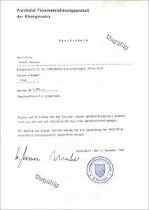 Provinzial Feuerversicherungsanstalt der Rheinprovinz (VU16)